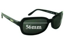Sunglass Fix Sunglass Replacement Lenses for Ralph Lauren RL 7518/S - 56mm Wide