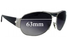 Sunglass Fix Sunglass Replacement Lenses for Ray Ban RB3358 - 63mm Wide