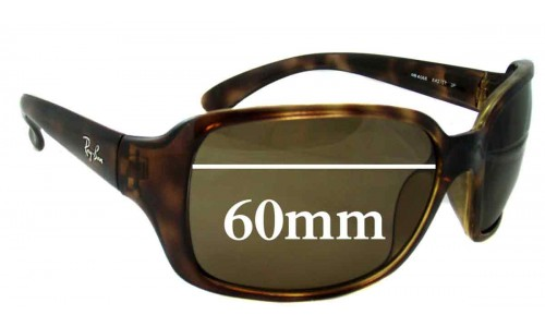 Sunglass Fix Sunglass Replacement Lenses for Ray Ban RB4068 - 60mm across