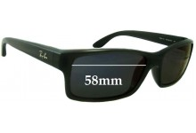Sunglass Fix Sunglass Replacement Lenses for Ray Ban RB4151 - 59mm wide