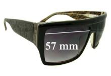 Sunglass Fix Sunglass Replacement Lenses for Tsubi Geezer - 57mm Wide