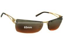 Sunglass Fix Sunglass Replacement Lenses for Arnette Fullback AN3008 - 65mm Wide