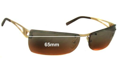 Sunglass Fix Sunglass Replacement Lenses for AN3008 Arnette Fullback - 65mm wide