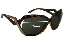 Sunglass Fix Sunglass Replacement Lenses for Armani Exchange AX 126/S - 62mm Wide