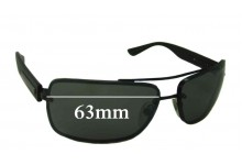 Sunglass Fix Sunglass Replacement Lenses for Bvlgari 5016 - 63mm Wide