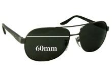 Sunglass Fix Sunglass Replacement Lenses for Bvlgari 5023 - 60mm Wide