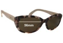Sunglass Fix Sunglass Replacement Lenses for Calvin Klein CK4152S - 56mm Wide