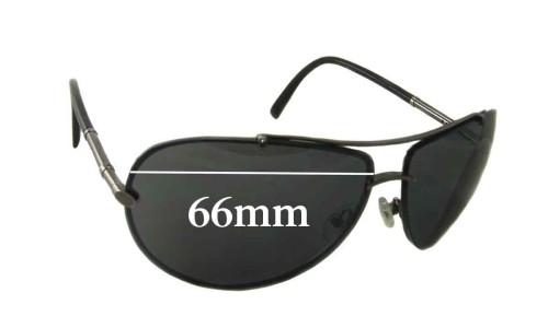 Sunglass Fix Sunglass Replacement Lenses for Calvin Klein CK914S - 66mm Wide