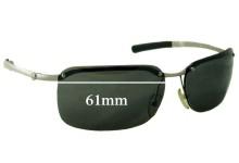 Sunglass Fix Sunglass Replacement Lenses for Calvin Klein CK2008 - 61mm Wide