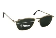 Sunglass Fix Sunglass Replacement Lenses for Cara Nova T8298 - 52mm Wide