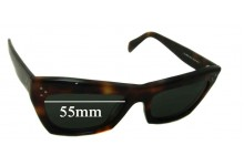 Sunglass Fix Sunglass Replacement Lenses for Celine CL 41802/S - 55mm Wide
