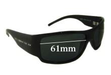 Sunglass Fix Sunglass Replacement Lenses for Dolce & Gabbana DG6020 - 61mm Wide