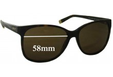 Sunglass Fix Sunglass Replacement Lenses for DKNY DY4085 - 58mm Wide