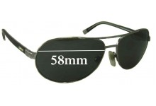 Sunglass Fix Sunglass Replacement Lenses for DKNY DY5042 - 58mm Wide