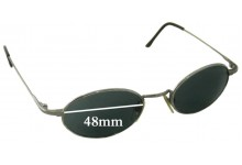 Sunglass Fix Sunglass Replacement Lenses for DKNY DY7202S - 48mm Wide