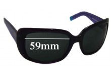 Sunglass Fix Sunglass Replacement Lenses for DKNY DY4011 - 59mm Wide