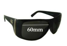 Sunglass Fix Sunglass Replacement Lenses for Dolce & Gabbana DG8040 - 60mm Wide
