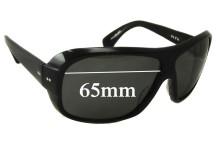 Sunglass Fix Sunglass Replacement Lenses for Dita Selector - 65mm Wide