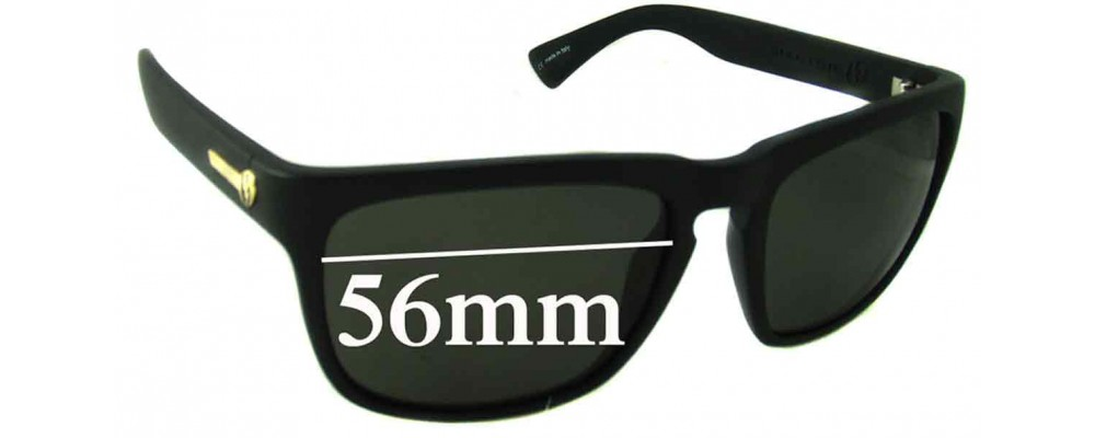 2470582cc0b Electric Knoxville Sunglass Replacement Lenses - 56mm Wide  2 versions -  These are not the XL version