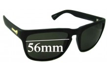 Sunglass Fix Sunglass Replacement Lenses for Electric Knoxville - 56mm Wide