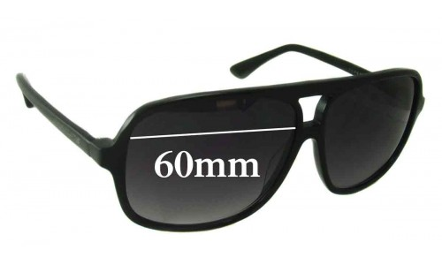 Sunglass Fix Sunglass Replacement Lenses for Gasoline - 60mm Wide