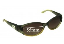 Sunglass Fix Sunglass Replacement Lenses for Gucci GG 2456/S - 55mm Wide