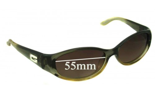 Sunglass Fix Sunglass Replacement Lenses for Gucci 2456/S - 55mm wide