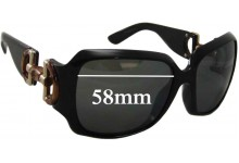 Sunglass Fix Sunglass Replacement Lenses for Gucci GG 2969 - 57-58mm Wide