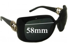 Sunglass Fix Sunglass Replacement Lenses for Gucci GG 3034/S - 58mm Wide