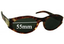 Sunglass Fix Sunglass Replacement Lenses for Gucci GG 2411/S - 55mm Wide