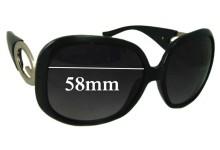 Sunglass Fix Sunglass Replacement Lenses for Guess GU7017 - 58mm Wide