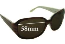 Sunglass Fix Sunglass Replacement Lenses for Kate Spade Akira - 58mm Wide