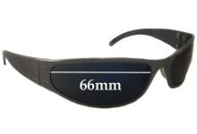 Sunglass Fix Sunglass Replacement Lenses for Liquid Eyewear G - 66mm Wide