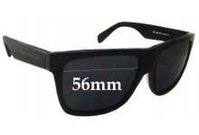 Sunglass Fix Sunglass Replacement Lenses for Marc by Marc Jacobs MMJ 333/S - 56mm Wide