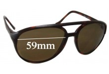 Sunglass Fix Sunglass Replacement Lenses for Maui Jim MJ193 - 59mm Wide