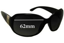 Sunglass Fix Sunglass Replacement Lenses for Next FS219 - 62mm Wide