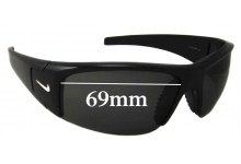 Sunglass Fix Sunglass Replacement Lenses for Nike Diverge EVO325 - 69mm Wide