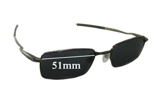 Sunglass Fix Sunglass Replacement Lenses for Oakley Kickstand 2.0 - 51mm wide