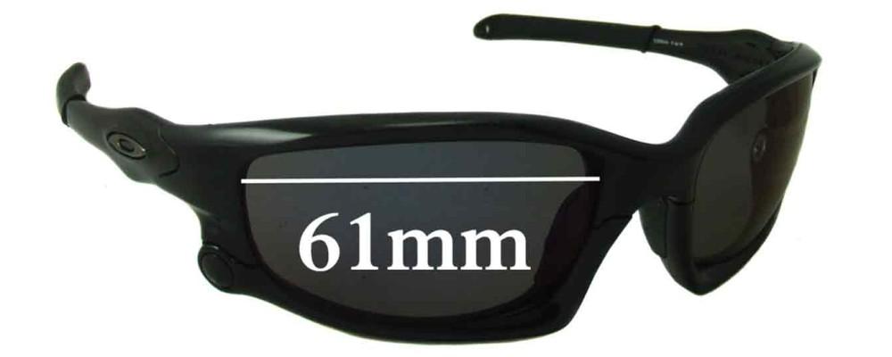 15d20f114b2 Oakley Split Jacket Sunglass Replacement Lenses - 61mm Wide ...