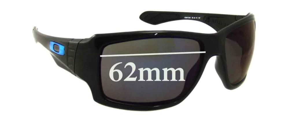 Sunglass Fix Sunglass Replacement Lenses for Oakley Big Taco - 62mm Wide