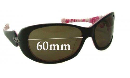 Sunglass Fix Sunglass Replacement Lenses for Oakley Dangerous - 60mm Wide