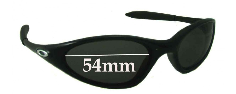 oakley minute sunglasses  Minutes 1.0 Sunglass Replacement Lenses - 54mm across