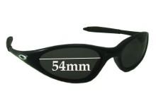 Sunglass Fix Sunglass Replacement Lenses for Oakley Minute 1.0 - 54mm Wide