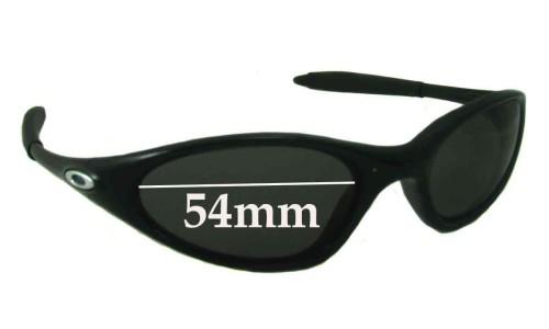 Sunglass Fix Sunglass Replacement Lenses for Oakley Minutes 1.0 - 54mm across