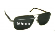 Sunglass Fix Sunglass Replacement Lenses for Persol 2394-S - 60mm Wide