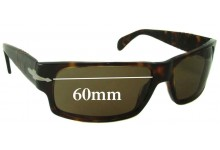 Sunglass Fix Sunglass Replacement Lenses for Persol 2720 - 60mm Wide