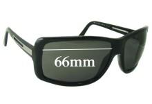 Sunglass Fix Sunglass Replacement Lenses for Prada SPR14I - 66mm Wide