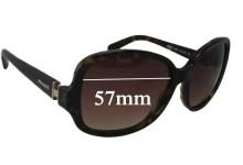 Sunglass Fix Sunglass Replacement Lenses for Prada SPR17N - 57mm Wide