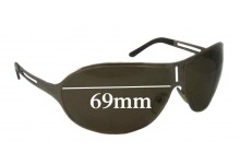 Sunglass Fix Sunglass Replacement Lenses for Prada SPR51H 69mm Wide