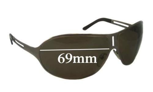 Sunglass Fix Sunglass Replacement Lenses for Prada SPR51H 69MM across
